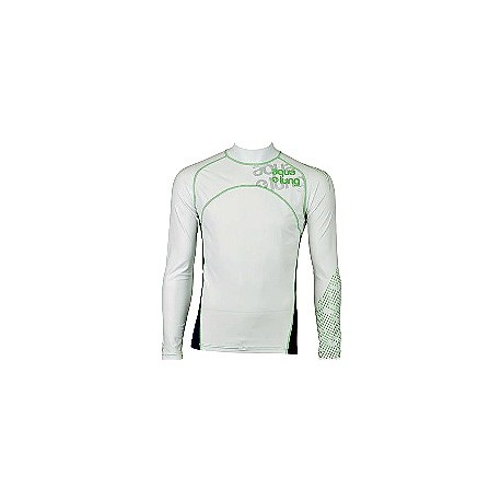 Aqua Lung Men's Long Sleeves Rashguard Green Fury