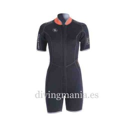 Shorty Aqualung Dive 4mm Reversible Mujer